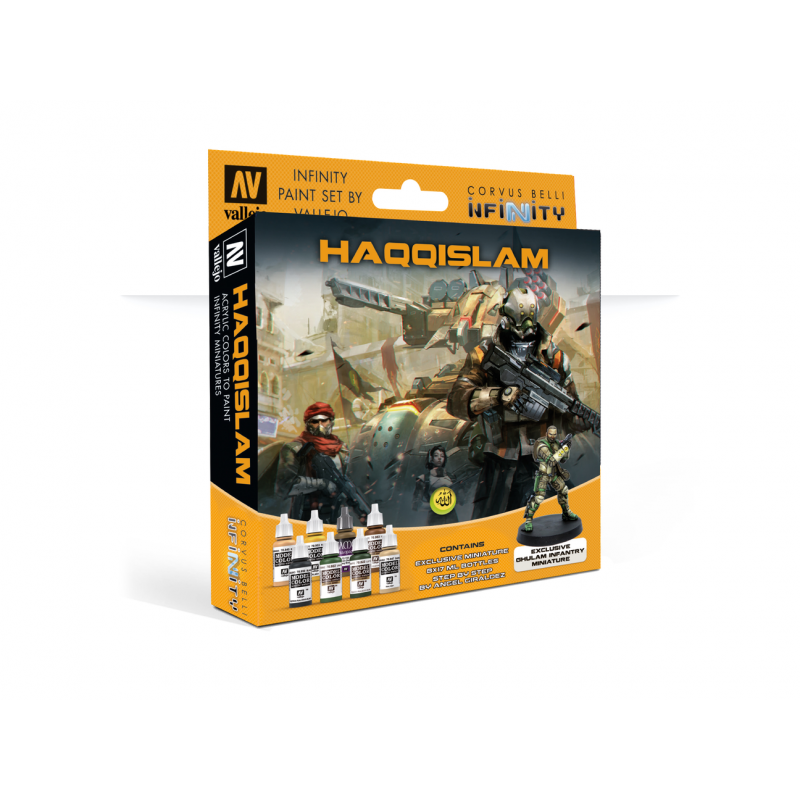 Model Color Set: Infinity Haqqislam with Exclusive Miniature