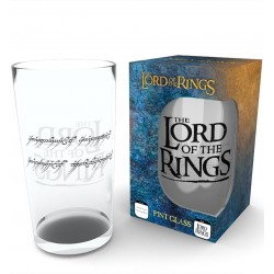 LORD OF THE RINGS RING PINT GLASS