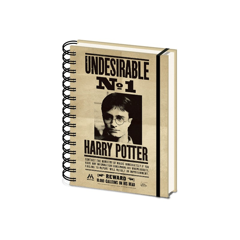 Harry Potter (Sirius & Harry) 3D Cover A5 Wiro Notebook