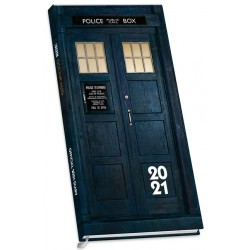 Doctor Who Official 2021 Slim Diary (Agenda)