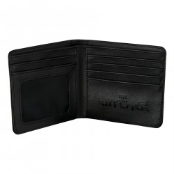 THE WITCHER 3 WHITE WOLF BI-FOLD WALLET
