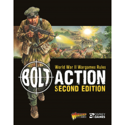 Bolt Action 2nd Edition Rulebook hardcover