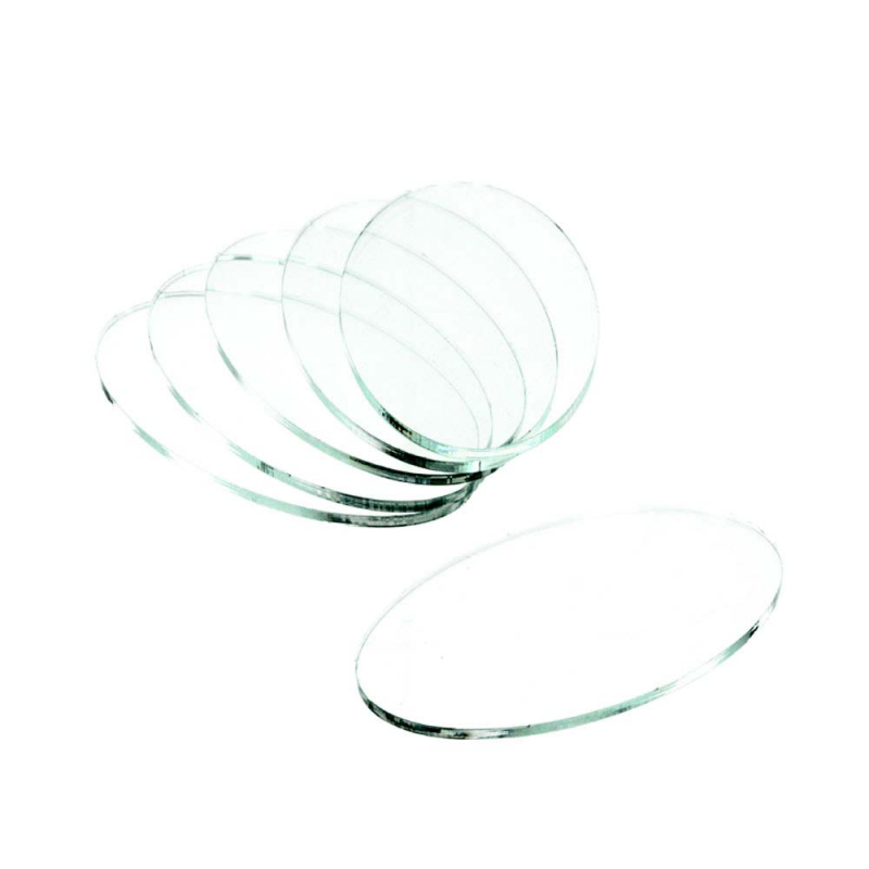 Clear Base Oval 60x35x3mm (5)