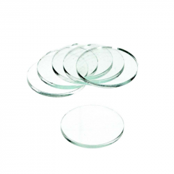 Clear Base Round 25x2mm (15)