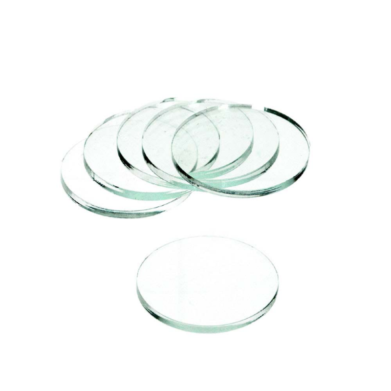 Clear Base Round 40x3mm (5)