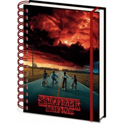 Stranger Things (Mind Flayer) 3D Cover  A5 Wiro Notebook