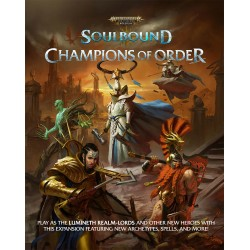 Warhammer Age of Sigmar RPG Soulbound Champions of Order